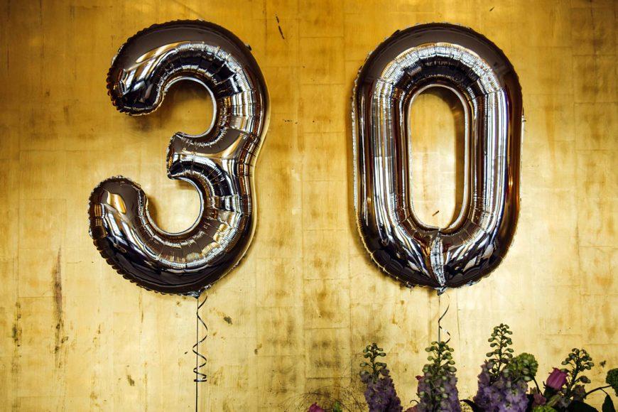 Die originellsten Geschenke zum 30. Geburtstag | Geschenkideen Boutique