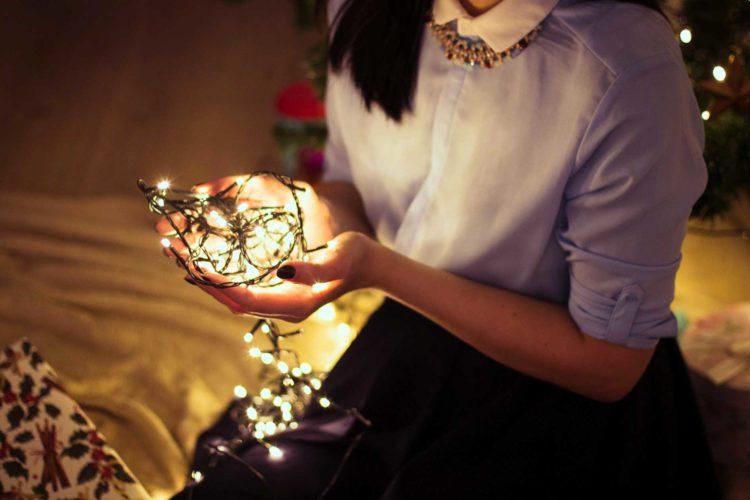 Weihnachtsgeschenk für die Frau